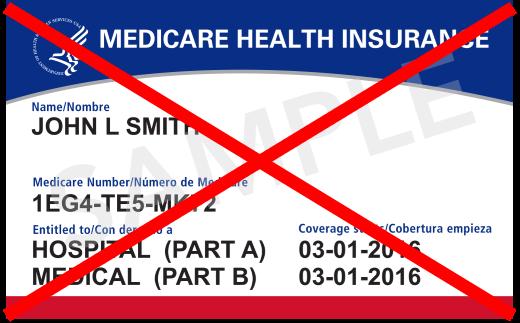 No Medicare Coverage